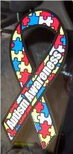 Autism Static Decal, Autism Static Cling, Autism Puzzle Decal